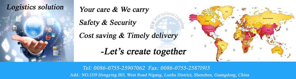 China Import and Export, Door to Door Service -Freight Forwarder