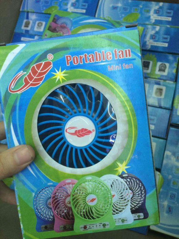 Promotional Rechargeable Portable Mini USB Fan Mini Air Conditioner