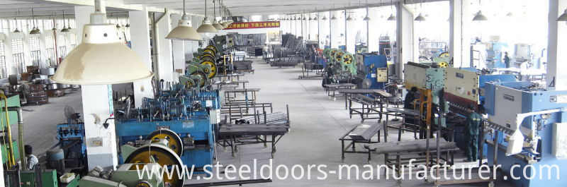 China Steel Door Supplier Entrance Door Metal Door Iron Door (FD-1203)