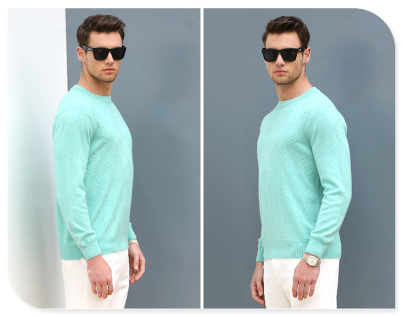 100% Cashmere Man's Sweater