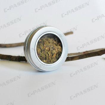 200g Labelled Aluminum Jar for Skincare Cream