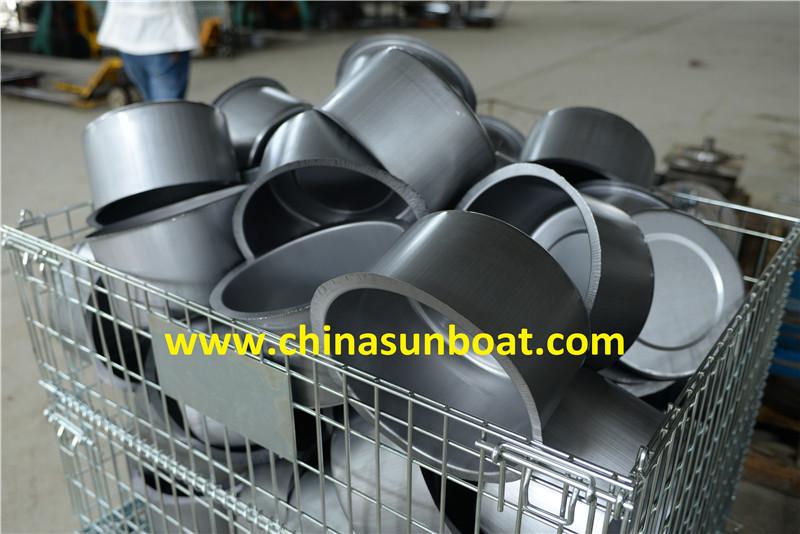 Sunboat 7qt Enamel Funnel Stock Pot /Enamel Stew Pot