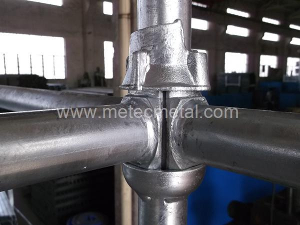 Hot DIP Galvanized Cuplock Scaffold System with Certification