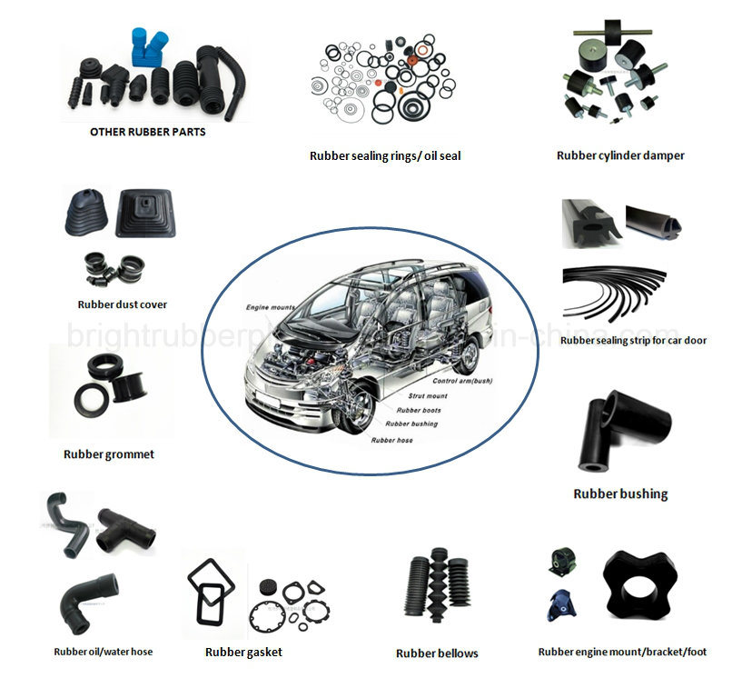Customize High Quality Ts16949 Rubber Bushing Used in Cars