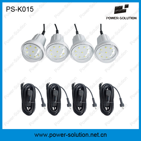 Good Price Solar Home Lighting Kits with 4 Bulbs for off Grid Areas