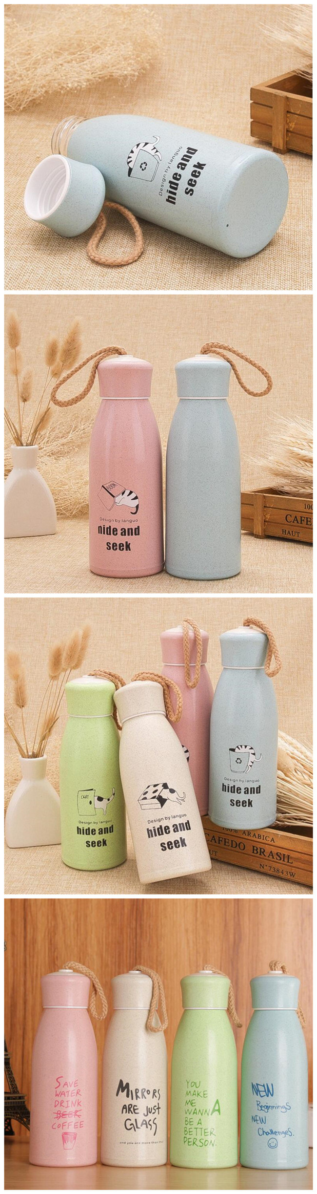 Portable Household Thermos Cup