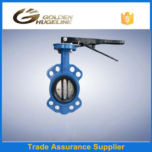 4 Inch Wafer Type Butterfly Valve for Water Flow Control