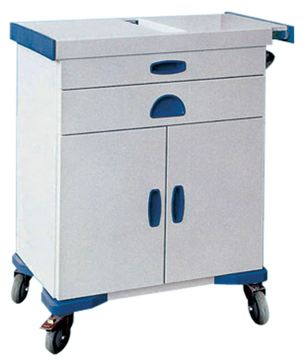 Stainless Steel Medical Emergency Cart