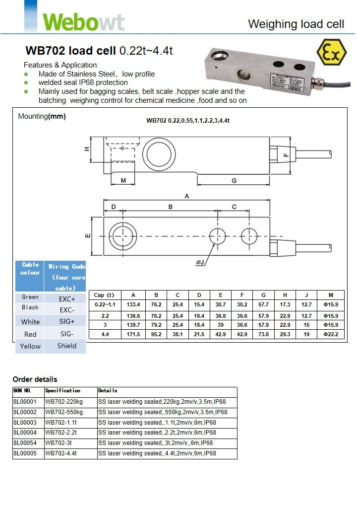 Weight Scale Load Cell