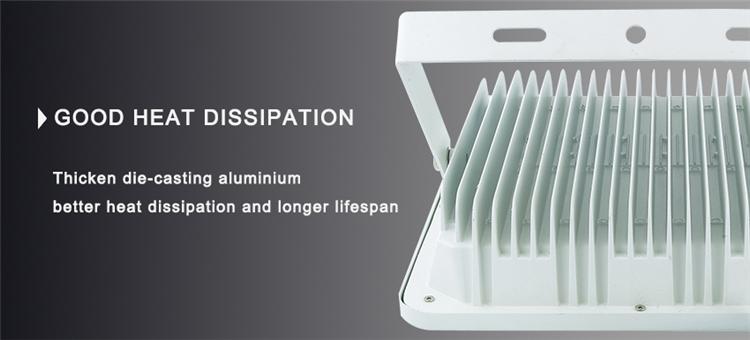 50W High Lumen 70-80lm/W White Reflector COB LED Flood Light