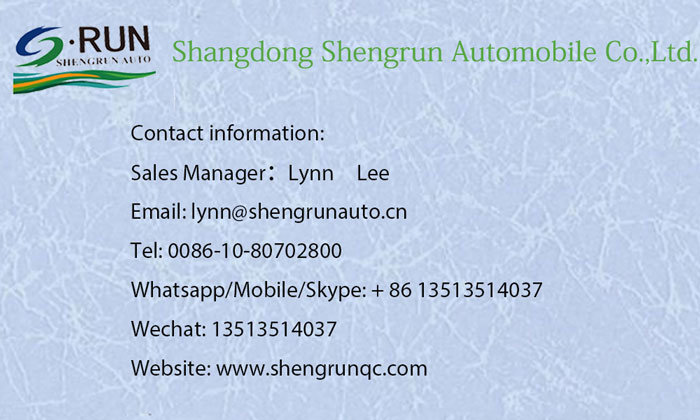Shengrun Flatbed Container Truck Semi-Trailer China Manufacturer