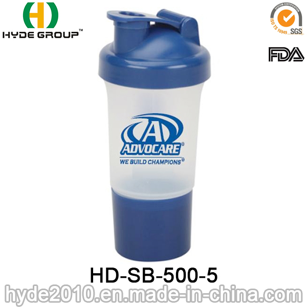 500ml Hot-Selling Protein Smart Shaker Bottle (HD-SB-500-5)