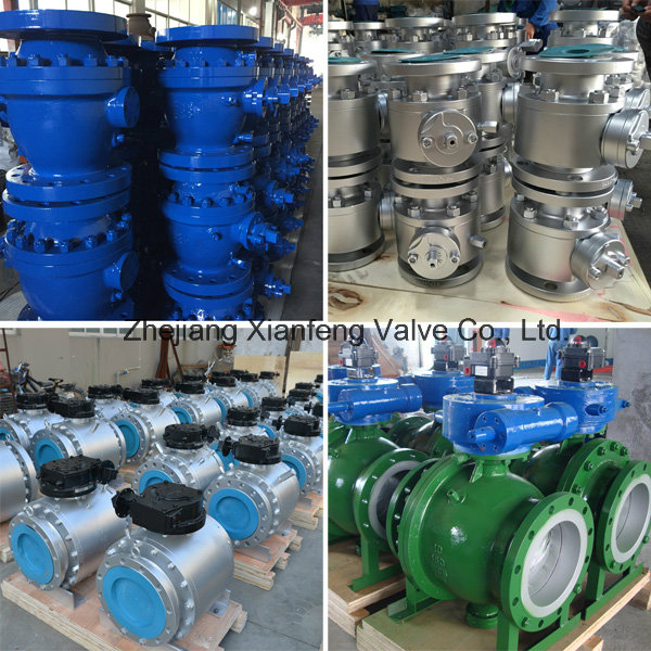 API6d Floating Type Flange Connection Ball Valve