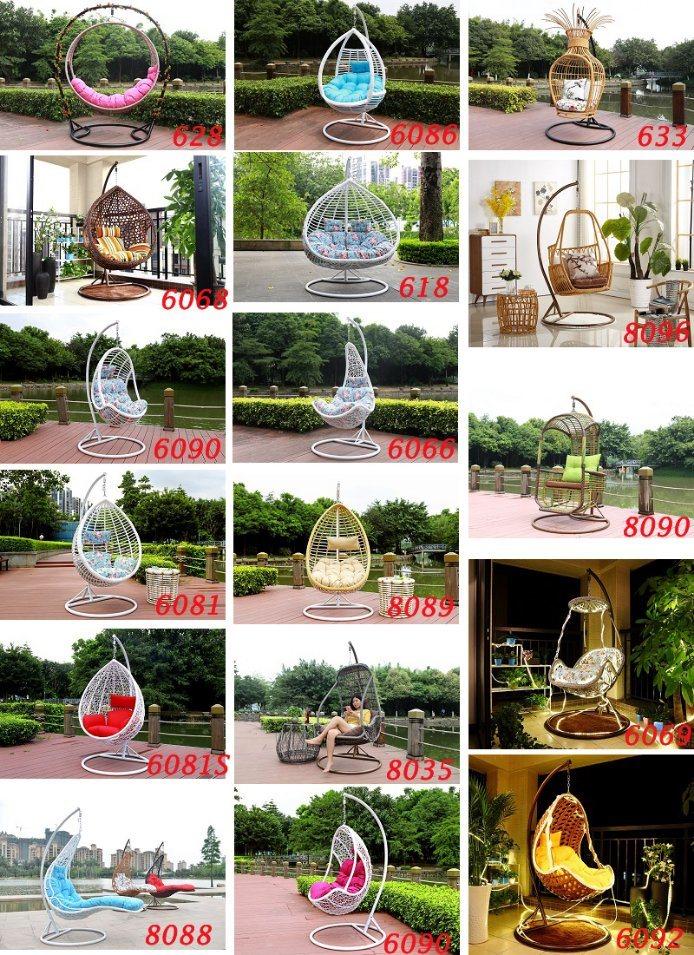 2018 New Design Outdoor Modern Garden Swing Chair-6081s