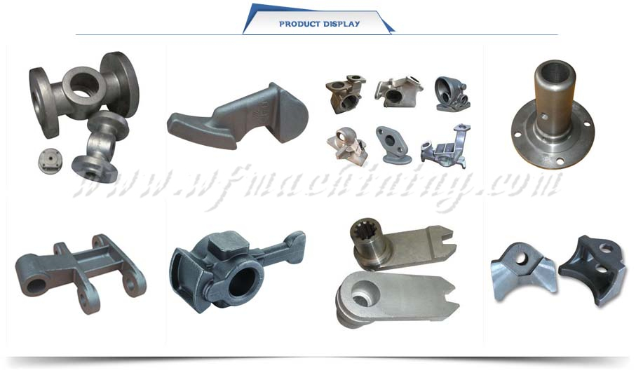 Precision Metal Sand Die Lost Wax Investment Casting for Machining Parts