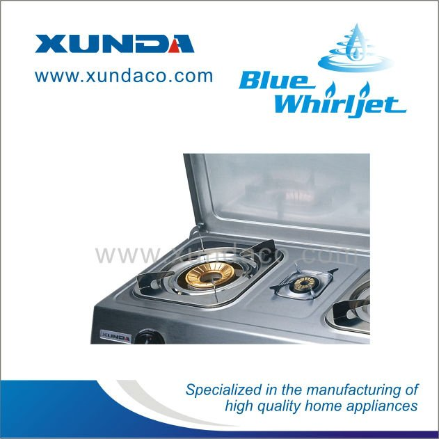 Gas Stove with Cover