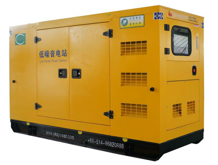 30kw Soundproof Diesel Engine Electric Generator Power Plant