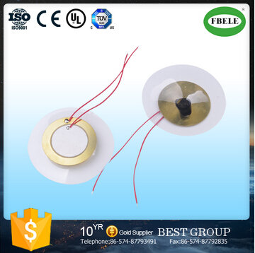 Fbpd56A Free Sample Piezo Diaphragm Ceramic Element with Wire (FBELE)
