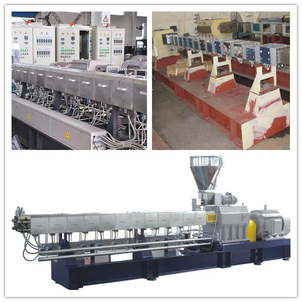 Tse-75b Twin Screw Plastic Extruder Granulator