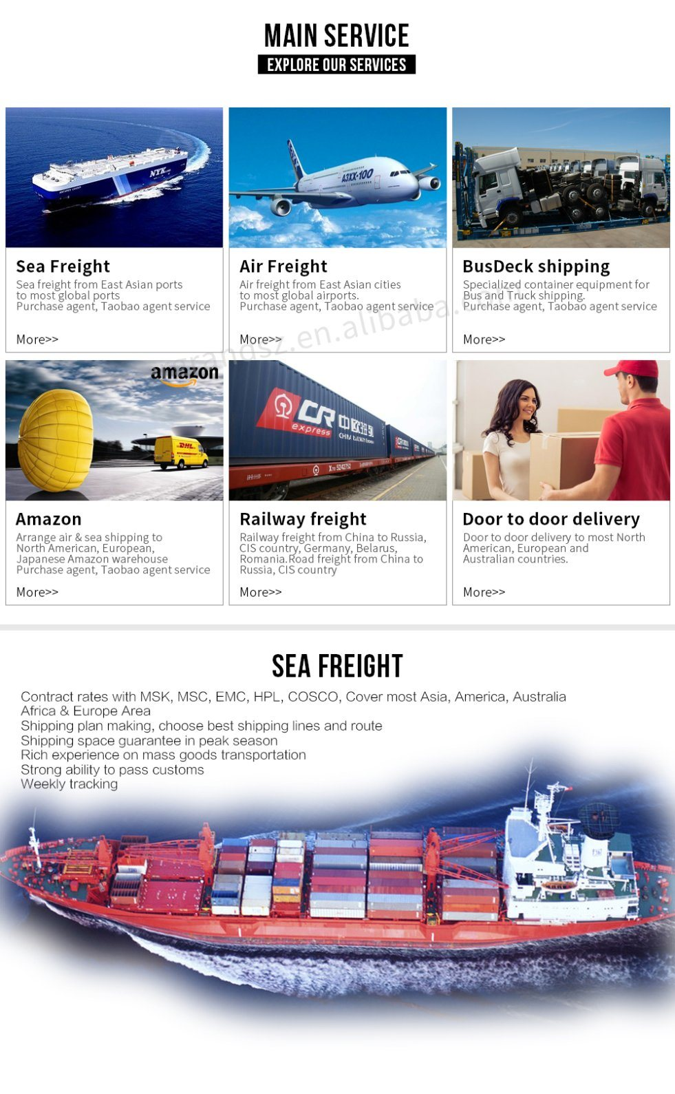 Reliable China Freight Forwarder to Los Angeles/Seattle/Oakland/Portland/San Diego