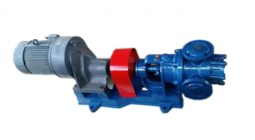 NYP high viscosity rotor pumps with heat jacket