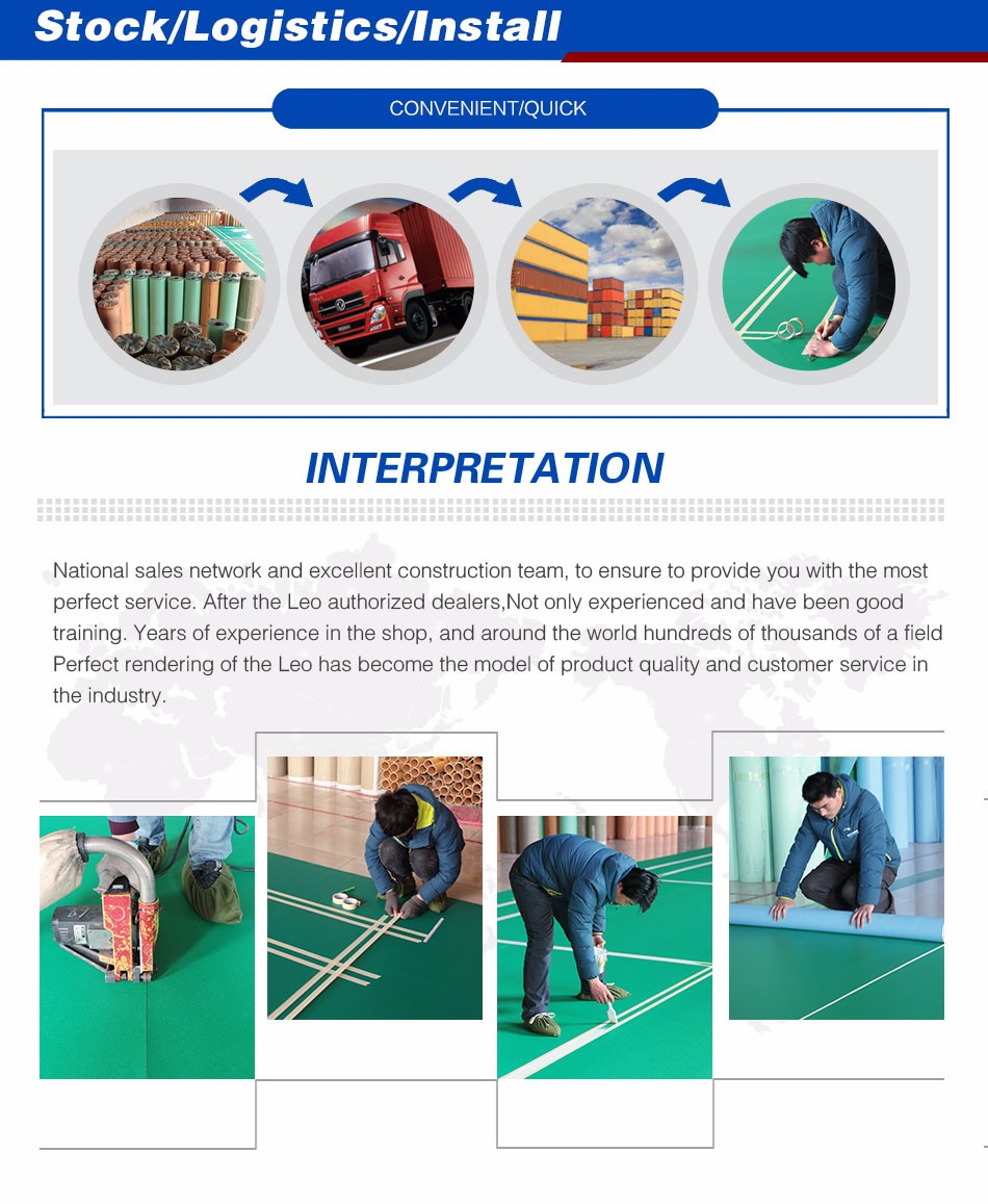 Multipurpose Sports Flooring