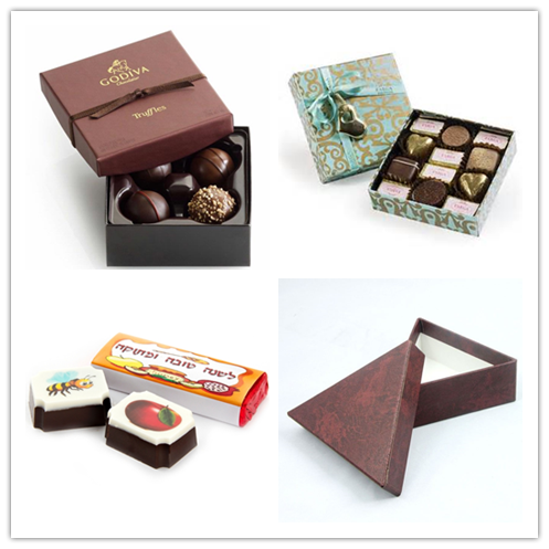 Partition Chocolate Box / Chocolate Ball Box with Clear Cover