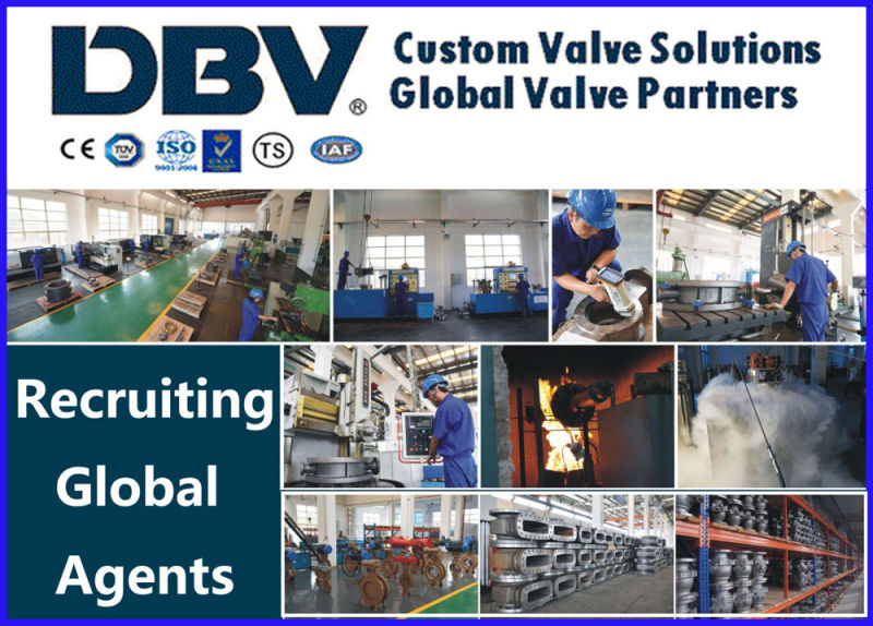 GB Standard Pn16 Wcb Globe Valve with Ce Approval