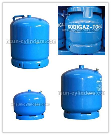 Steel Gas Cylinder& LPG Gas Cylinder (AS-LPG-3KG)