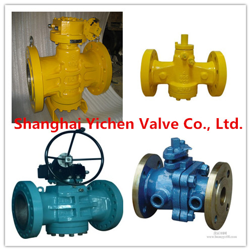API Inverted Pressure Balance Lubricated Plug Valve