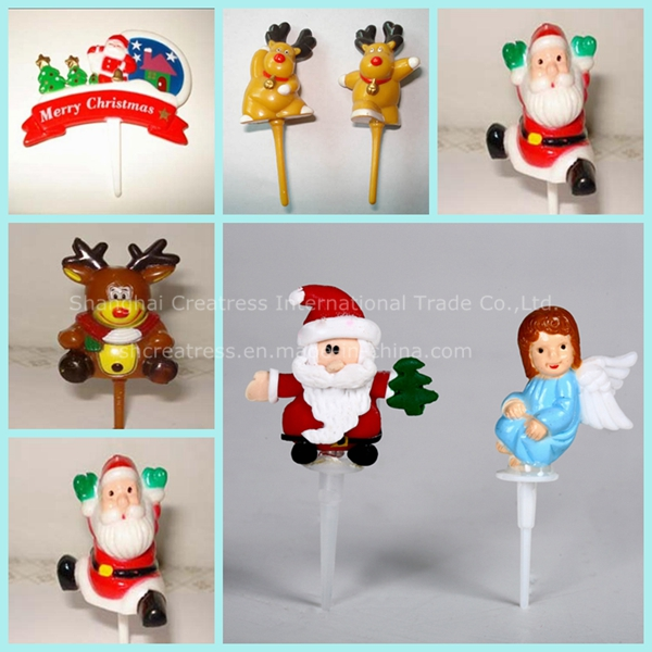 Factory Price Personalized Eco-Friendly Raw Material Plastic Christmas Decorations