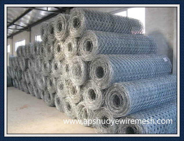 Galvanized Steel Gabion Wire Mesh Baskets