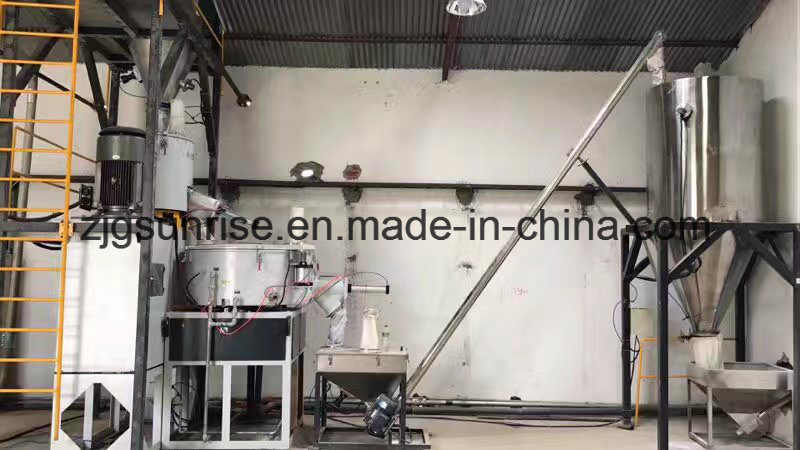 SRL-Z500/1000 PVC Plastic Compounding Mixer/ Mixing Machine