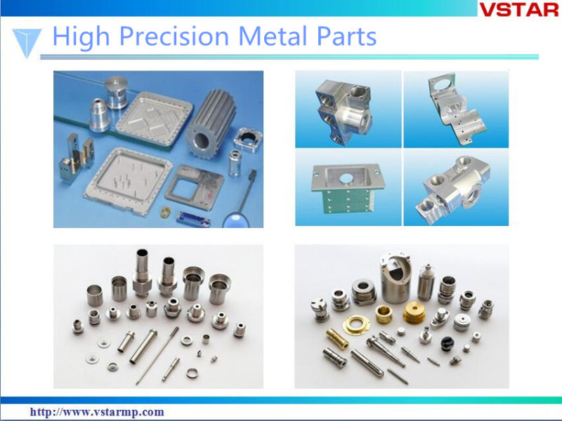 Carbon Steel Milled Parts by Plated Machining Part High Precision Spare Part Vst-0905