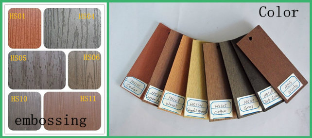 Wood Composite Decoration Building WPC Wall Panel