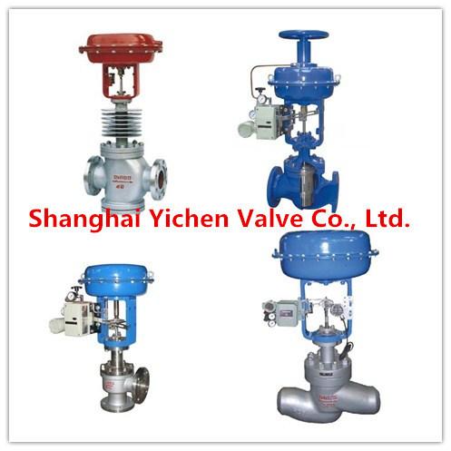 High Pressure and High Temperature Steam Electric Control Valve