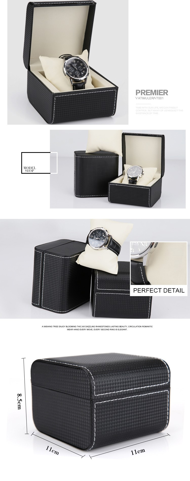 pu watch box
