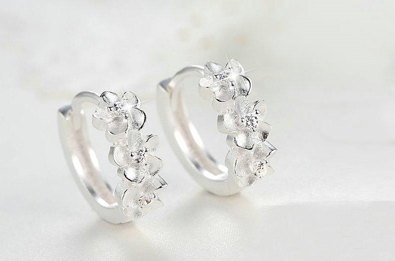 Fashion Earring Fashion Jewelry 925 Sterling Silver Jewelry (SE037)