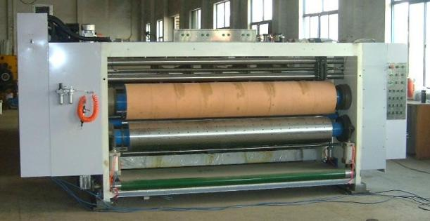 Automatic Printing Grooving and Die Cutting Integrated Line