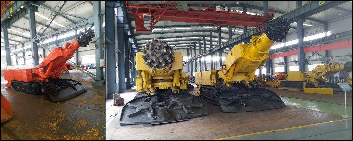 Loreen Ebz200 Roadheader Drill Equipments Mining Machine