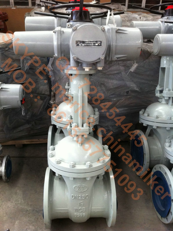 Electric Motor Control Gate Valve (Z941H-DN125-10MPa)