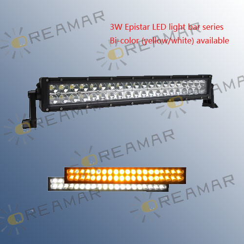 14Inch 72W Dual Rows LED Light Bar for Offroad 4X4