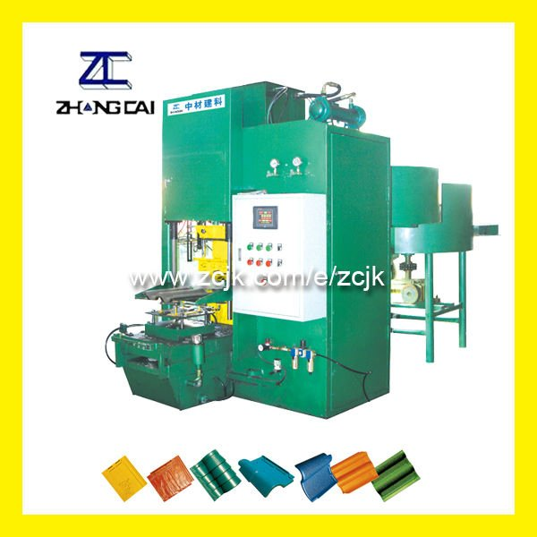 Roof Tile and Artificial Stone Making Machine (ZCW-120)
