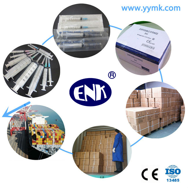 Disposable Sterile Syringe with Needle 5cc (ENK-DS-053)