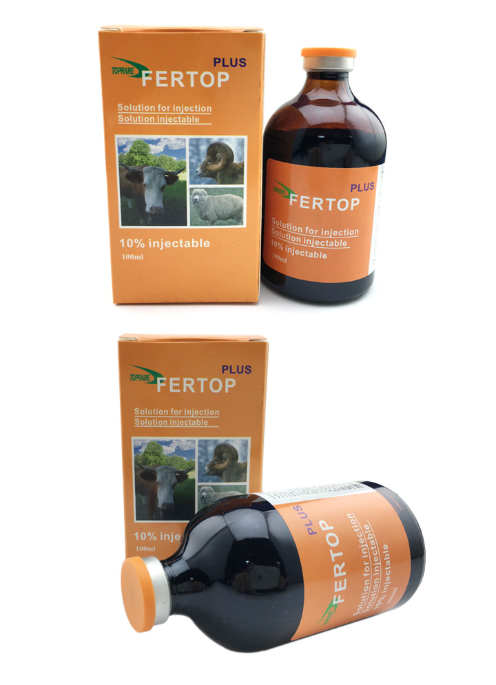 Veterinary Drugs of 10% Iron Dextran Plus Injection (50ml/100ml)