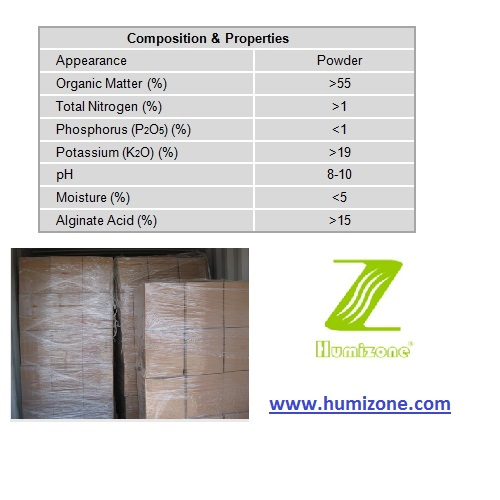 Humizone Seaweed Extract Power: 100% Water Soluble