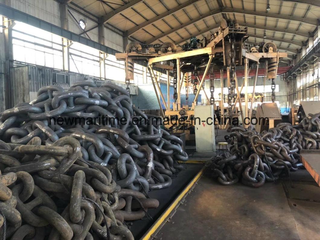 Grade U1, U2, U3 Used Self Color Stud Link Ship Anchor Chain for Sale