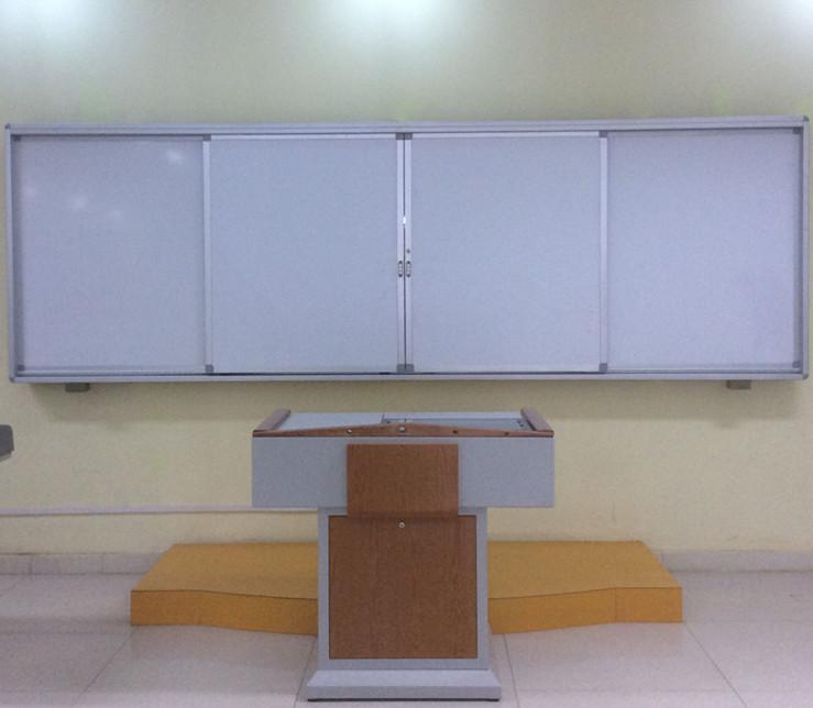 Sliding Blackboard with LCD