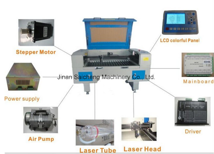 80W/100W/150W/300W Intelligent Auto Feeding Laser Cutting Engraving Machine
