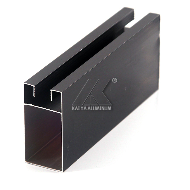 Philippines Anodize Black Aluminum Window and Door Profile